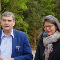 MdB Dr. Nina Scheer und MdB Ewald Schurer